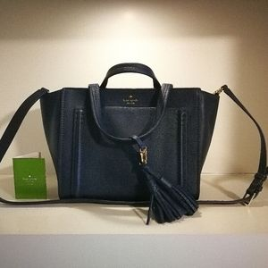 NWT Authentic Kate Spade Navy Shoulder Bag